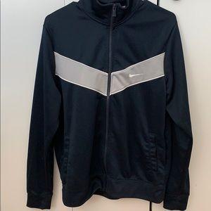 Nike Navy Full Zip Lightweight Jacket